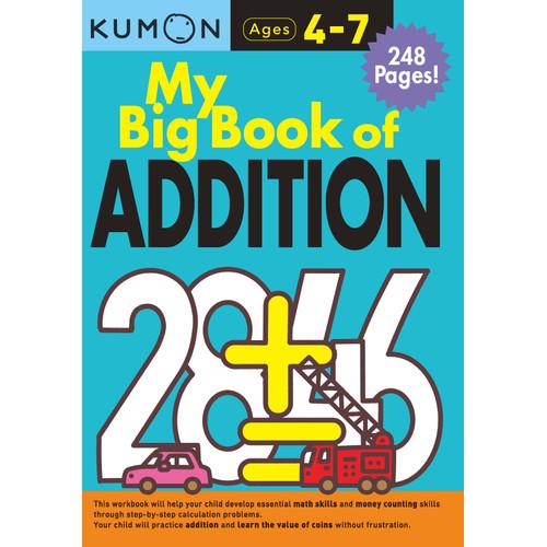 Foto Produk Buku Anak - Kumon - My Big Book of Addition dari Kumon Publishing INA