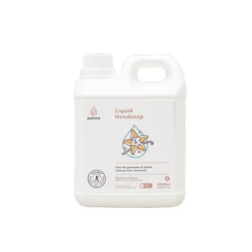 Foto Produk PURECO - Liquid Hand Soap REFILL 900ml dari Chubby Baby Shop