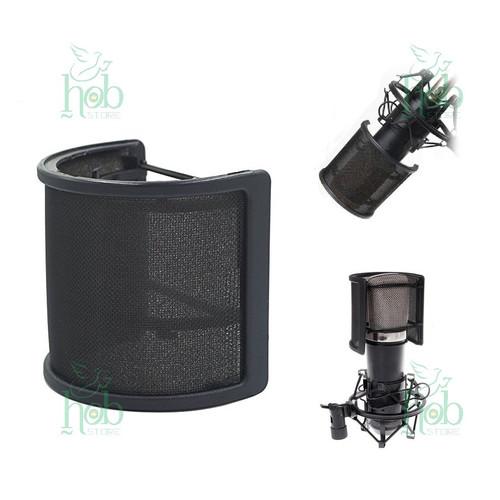 Foto Produk Pop Filter Curved Mesh Double Layer Windscreen for Microphone Model U dari HOB Store