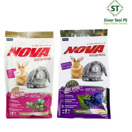 Foto Produk nova rabbit food 1kg - alfalfa dari Sinar tani ps