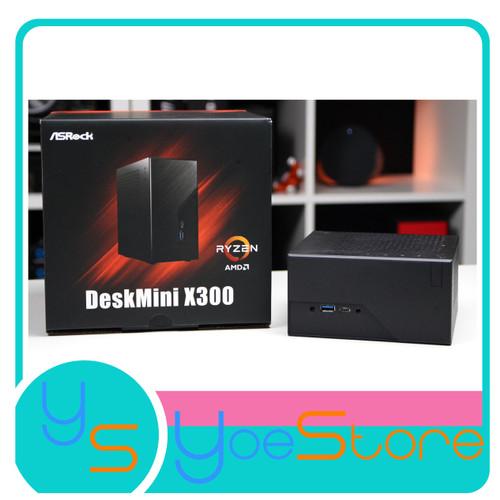 Foto Produk ASROCK DESKMINI X300 MINI ITX AMD SOCKET AM4 ( SUPPORT RINOIR ) dari Yoestore