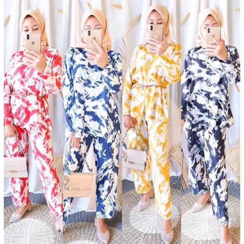 Foto Produk One Set Katun Rayon/Setelan Katun Rayon/Setelan Wanita dari Baim01_shop
