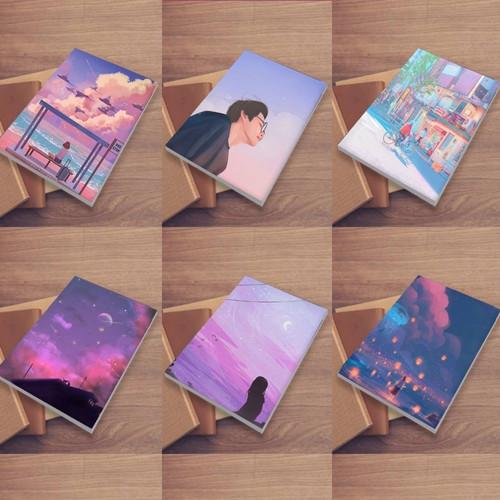 Jual Aesthetic Sampul Buku Custom Kota Tangerang Sampul Custom Tokopedia