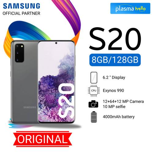 Foto Produk Samsung Galaxy S20 8/128GB GARANSI RESMI - Cosmic Grey dari Plasma Hello