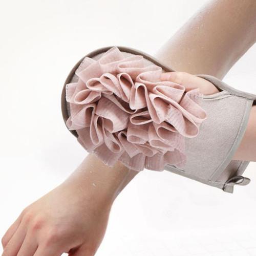 Foto Produk alat membantu menggosok badan sponge bath scrub bath towel hsk026 - pink dari Oila