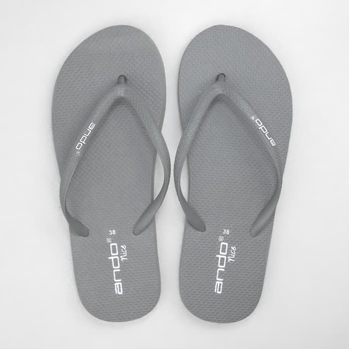 Foto Produk Sandal Jepit / Sendal Pantai Ando Nice Like in Dark Grey - Abu Tua, 37 dari 89stories