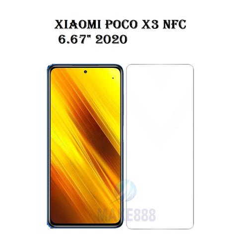 "Foto Produk Tempered Glass XIAOMI POCO X3 NFC 6.67"" 2020 Screen Guard Antigores dari MAKE888"