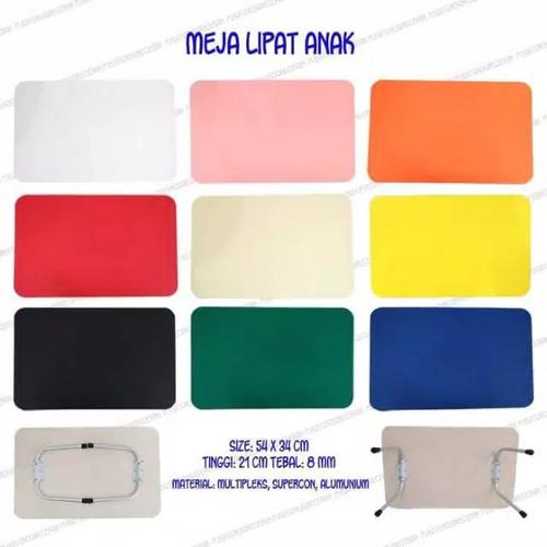 Foto Produk meja lipat polos warna dari meja lipat karakter