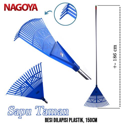 Foto Produk Sapu Taman Daun Besar Garden Broom Garu Sapu Sampah Daun 801 Nagoya dari Tchome Official Store