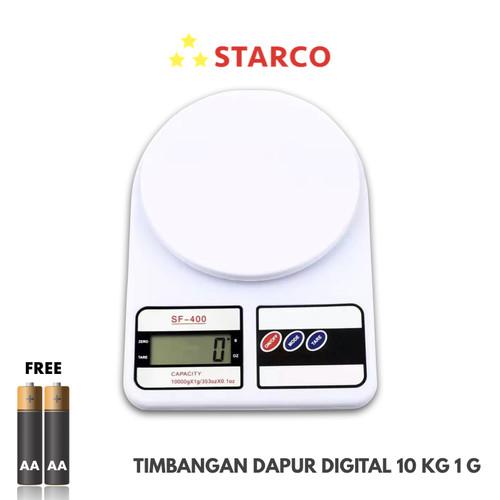 Foto Produk Starco Timbangan Digital Presisi / Timbangan Dapur 10 Kg dari Starco Official Store