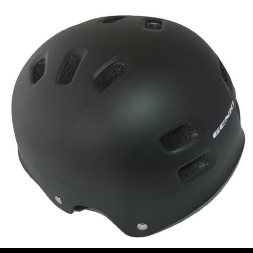 Foto Produk Helm Sepeda Batok -BMX Genio G12 HITAM dari Said Colletion