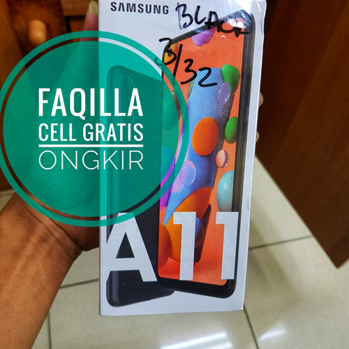 Foto Produk Samsung A11 resmi Samsung Indonesia 3/32 - Hitam dari faqilla cell