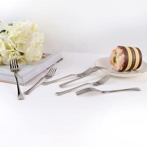 Foto Produk Cake Fork / Garpu Kue Stainless Steel Capodimonte isi 6 pcs dari Capodimonte