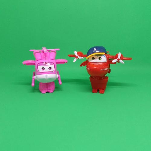Foto Produk SUPERWINGS SERIES ROBOT TRANSFORMASI - Putih dari Happy Ground Toys