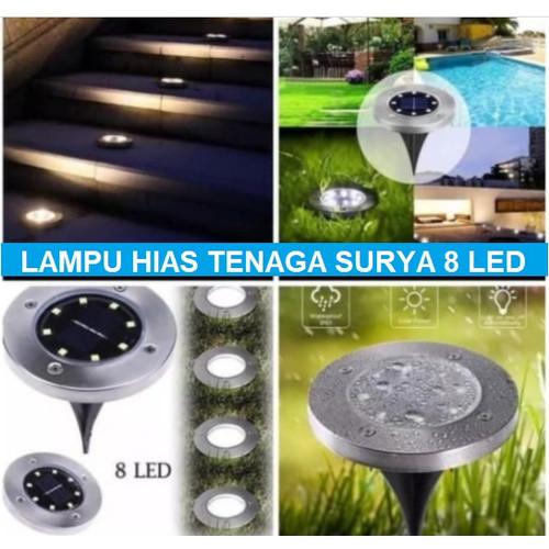 Jual Lampu Hias Taman Tenaga Surya Lampu Taman Tenaga Matahari 8 Led Jakarta Timur Grosir Calista Tokopedia