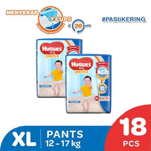 Foto Produk Buy 1 get 1 Free Huggies Dry Pants eco pack XL 18 ED 2021 dari KOTEX HUGGIES INDONESIA