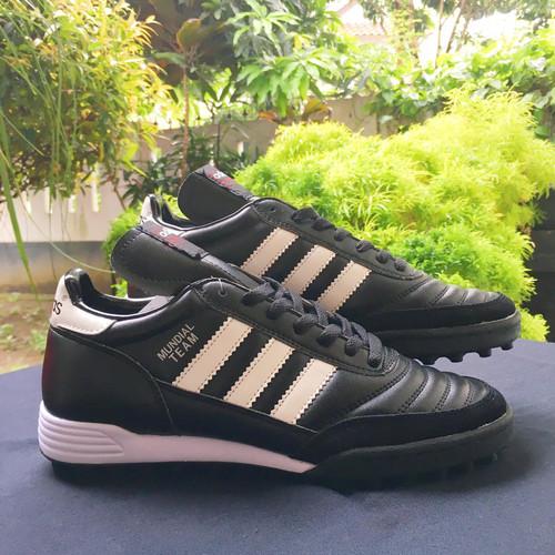 Foto Produk Sepatu Futsal Adidas Copa Mundial Team Black White TF dari indosportshoes