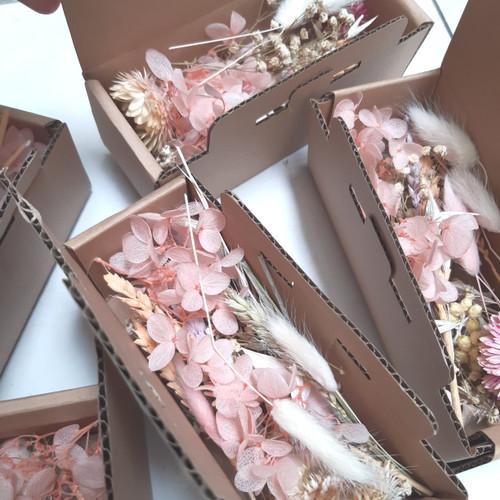 Foto Produk Bunga Kering Campur/ Dried Flower Mix untuk SCRAPBOOK - Pastel dari The Flower Room