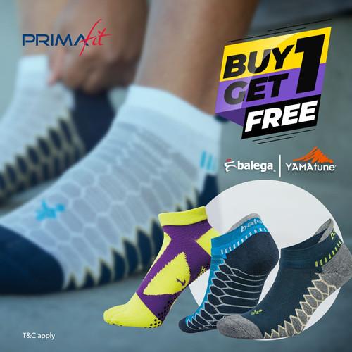 Foto Produk Buy 1 Get 1 Balega and Yamatune Socks dari PrimaFit Store