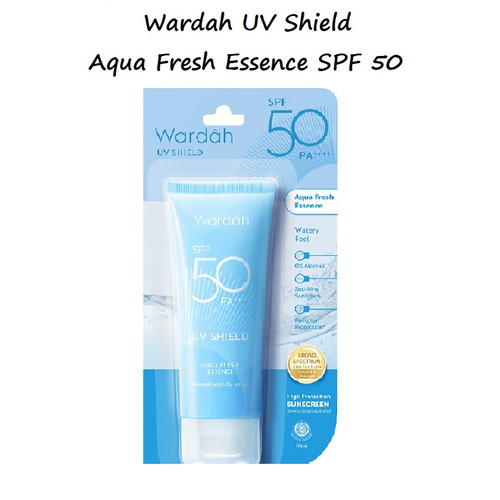 Foto Produk Wardah UV Shield Aqua Fresh Essence SPF 50 dari Debelleza Shop