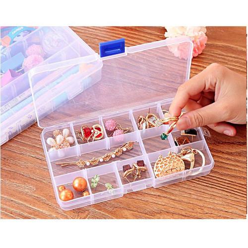 Foto Produk kotak plastik sekat 10 , kotak aksesoris , kotak plastik plastic box dari KAYO