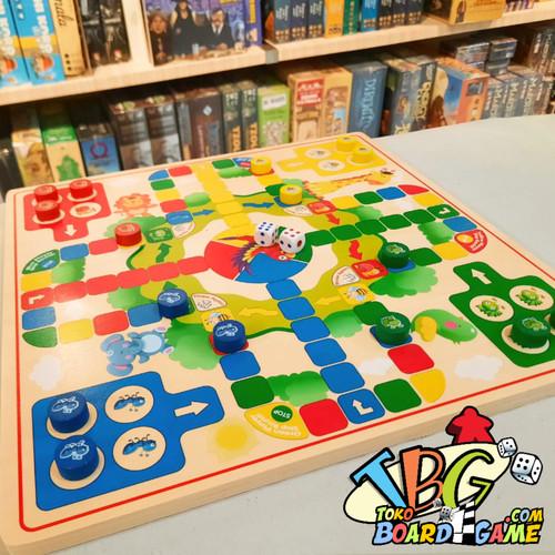 Foto Produk Droughts & Flying Chess Board Game - Ludo & Halma - High Quality dari Toko Board Game