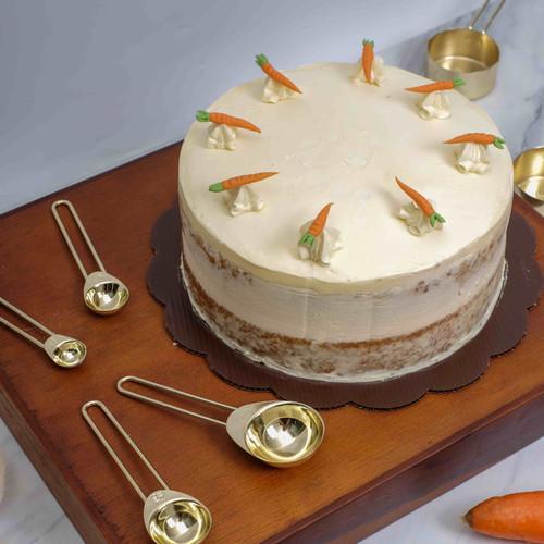 Foto Produk Gluten Free Carrot Cake - 16cm dari Tarterieandco