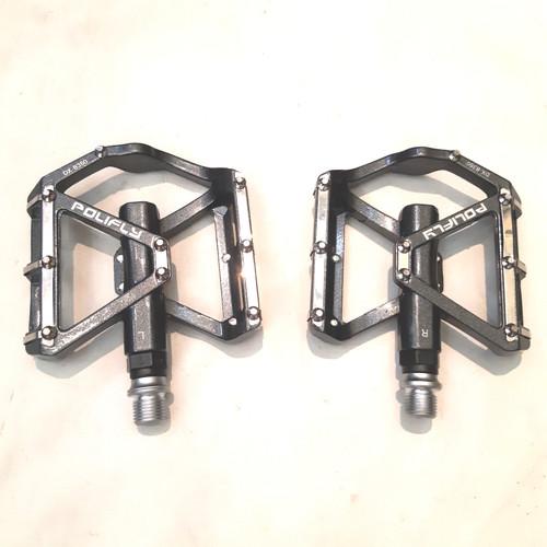 Foto Produk pedal flat bearing polifly model keren dari farras bikes
