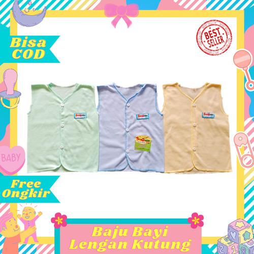Foto Produk Best Seller Baju Kutung / Baju Bayi Tanpa Lengan Polos warna SNI murah dari Toko Bayi Hanifah