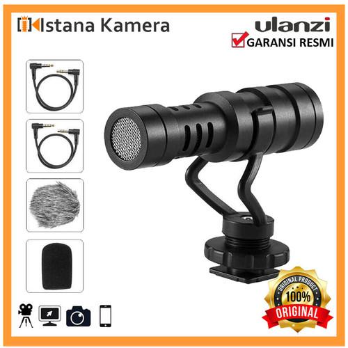 Foto Produk Ulanzi AriMic MC-1 MC1 Professional Cardiod Mini Shotgun For Kamera HP dari Istana Kamera Official