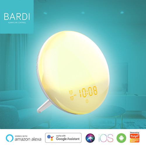Foto Produk BARDI Smart Wake up Light clock (Fm Radio compatibility) dari Bardi Official Store