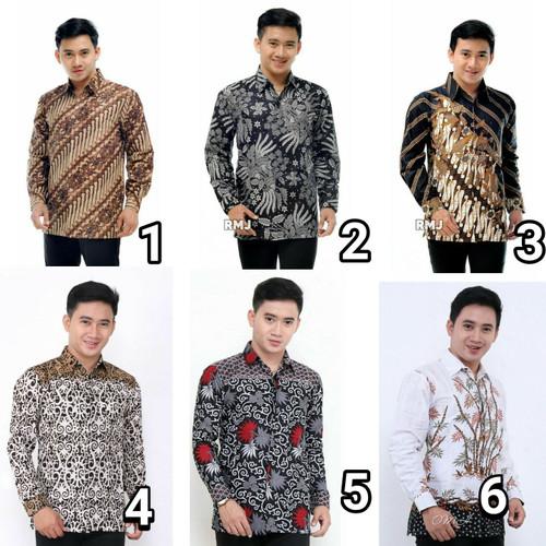 Foto Produk Kemeja batik pria lengan panjang motif terlaris dari Osakajaya