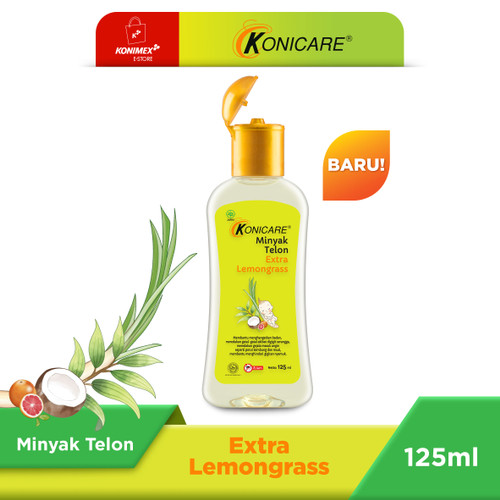 Foto Produk Konicare Minyak Telon Extra Lemongrass 125 ml dari Konimex Store