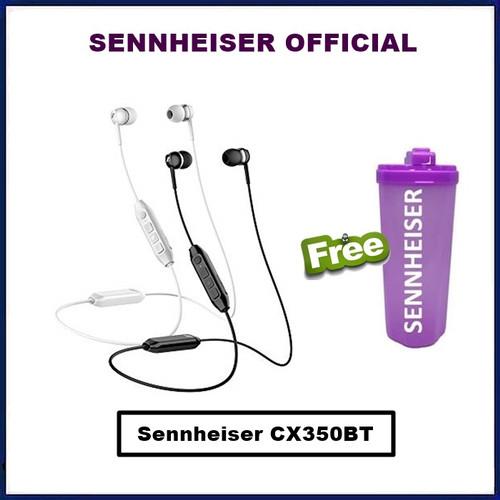 Foto Produk Sennheiser CX 350BT Wireless Earphone CX350BT CX350 BT CX 350 BT - Hitam dari Official Brands