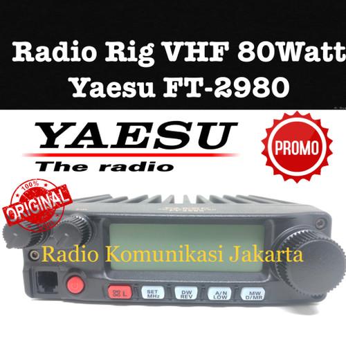 Foto Produk Original Ori Radio Rig Yaesu FT2980 FT-2980 Pengganti FT2900 Murah dari Radio Komunikasi Jakarta