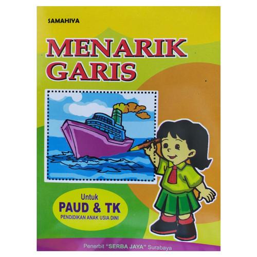 Foto Produk Buku Anak Menarik Garis Untuk TK/PAUD dari Toko Buku dan Stationery