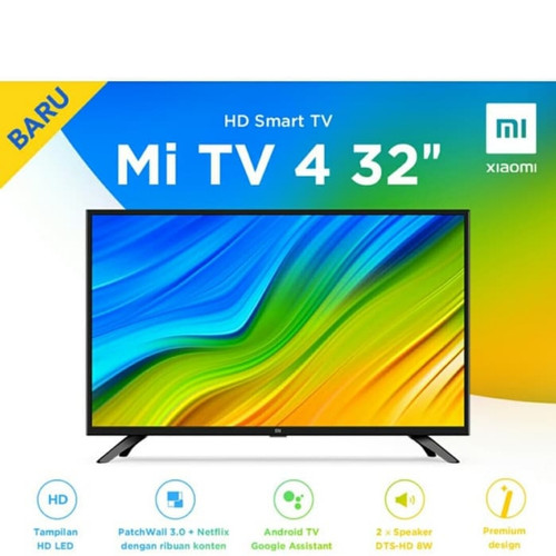 Foto Produk Xiaomi Mi TV 4A LED 32 Smart TV Android dari Cindishop