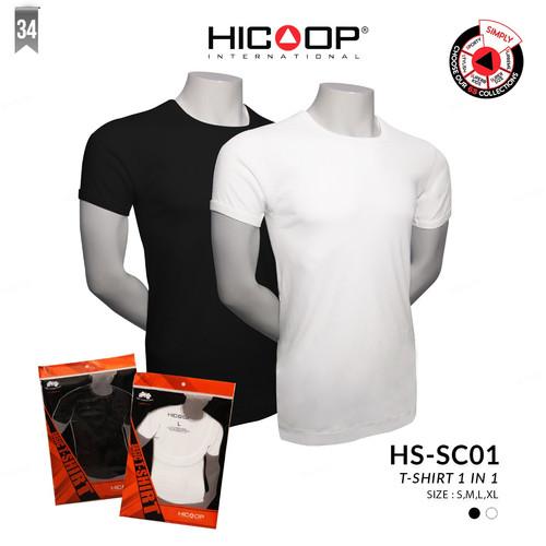 Foto Produk HS-SC01 T-Shirt 1 in 1 - Putih, S dari Hicoop