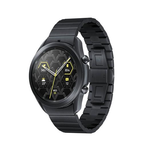 Foto Produk Samsung Galaxy Watch 3 45mm SM-R840NTKAMEA Titanium Mystic Black - Hitam dari TokoPDA Official Store