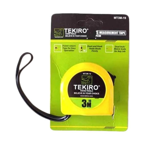 Foto Produk TEKIRO METERAN 3 METER /METERAN / TOOLS - ALAT PERKAKAS dari TEKIRO - REXCO Official