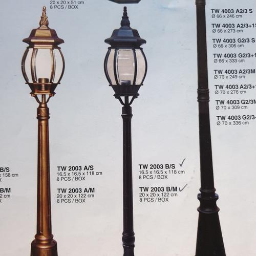 Jual Lampu Taman Klasik Clasic 1 Lampu Jakarta Pusat Infinity Lighting Tokopedia