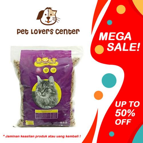 Foto Produk Makanan Kucing Bolt Repack 1KG Original - Kibble Donat dari Pet Lovers Center