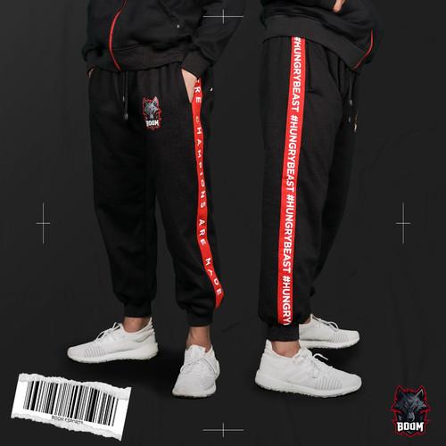 Foto Produk Official Team Sweatpants - BOOM ESPORTS - XL dari BOOM Esports
