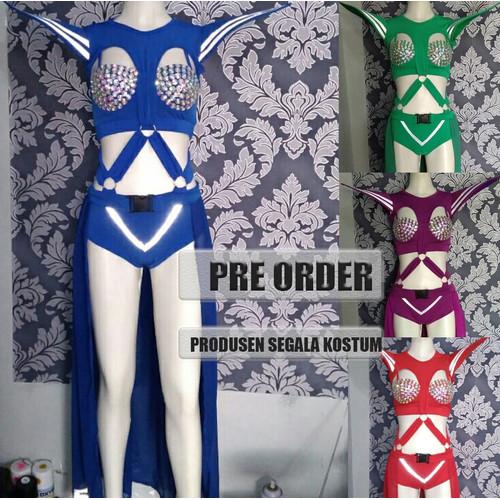 Foto Produk Kostum Baju Dance Wanita Model Futuristik 159 dari Jualkostummurah