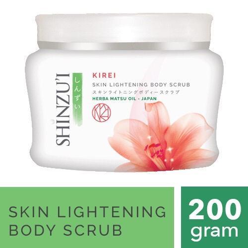 Foto Produk Shinzui Kirei Skin Lightening Body Scrub 200 gram dari Shinzu'i Official Shop