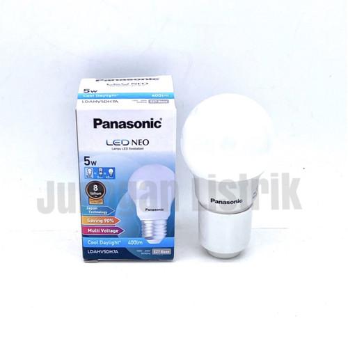 Foto Produk LED BULB PANASONIC NEO 5W 5 W 5WATT 5 WATT - Putih dari Juragan Listrik