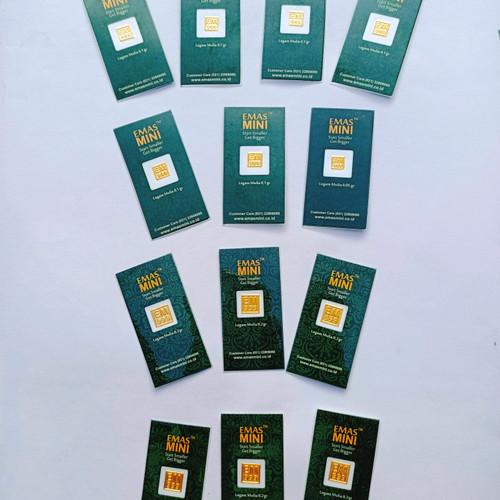 Foto Produk Emas mini 0,1 Gram dari Kilauberkah