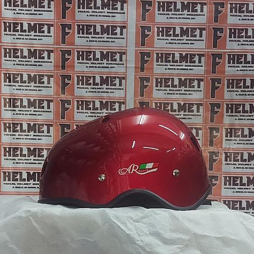 Foto Produk AR Sport Bicycle Helmet Solid series    Helm Sepeda - Merah Maroon, All Size dari faizal.helm