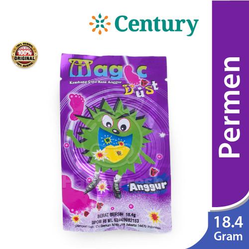 Foto Produk MAGIC DUST ANGGUR (KEMBANG GULA RASA ANGGUR) 18.4 GR / PERMEN dari CENTURY HEALTHCARE