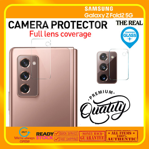 Foto Produk Samsung Galaxy Fold 2 Fold2 Lens Camera Tempered Glass (REAL GLASS) dari Spigen Indonesia